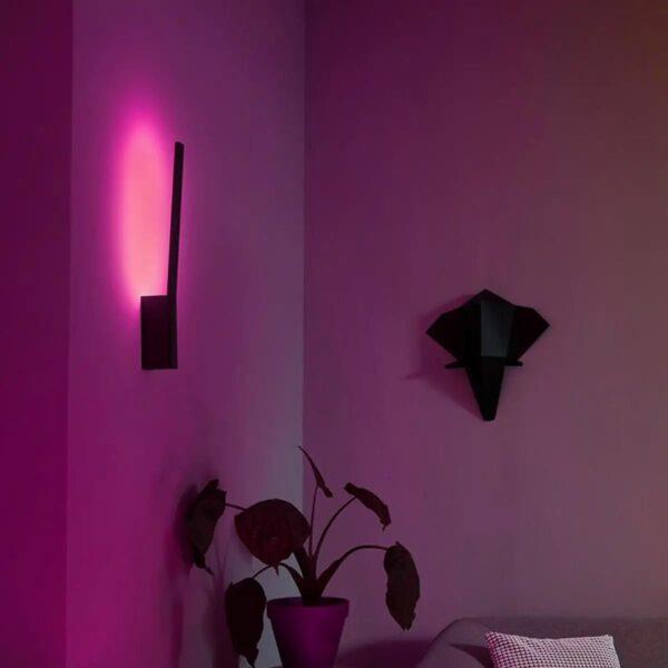 Philips Hue Liane lámpara de pared LED negro