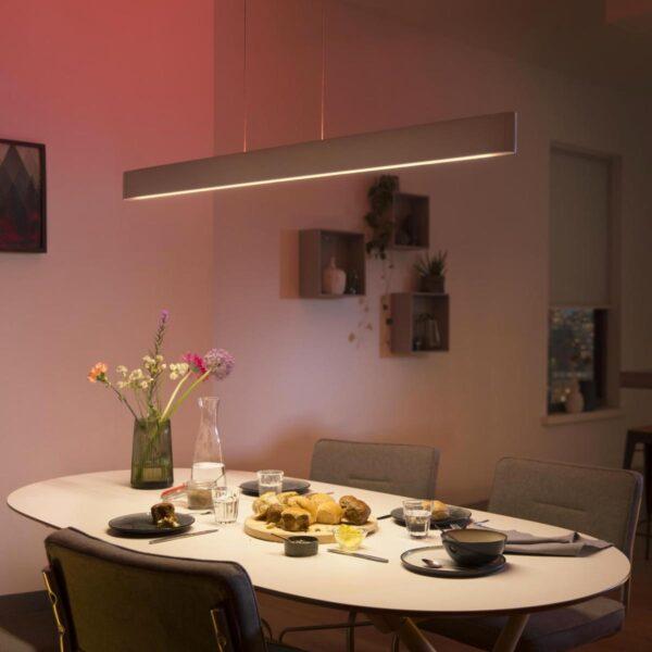 Lámpara colgante Philips Hue Ensis LED, RGBW blanco