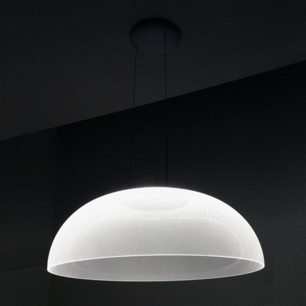 Lámpara colgante Demí 33W blanco-2276