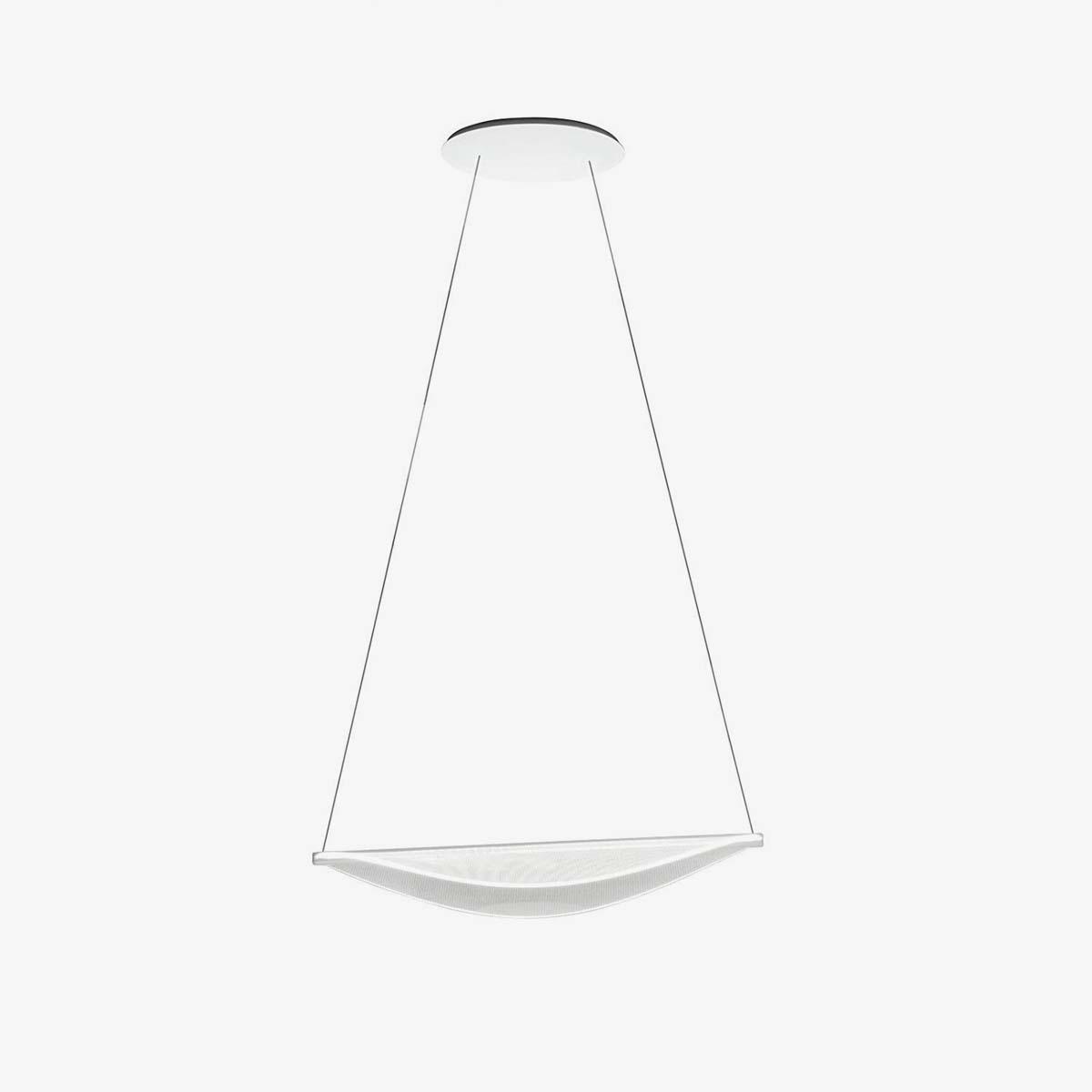 Lámpara colgante Diphy P1 1L 40W blanco-0