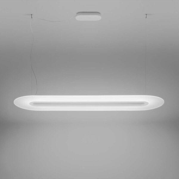 Lámpara colgante Opti-Line DALI blanco-2266