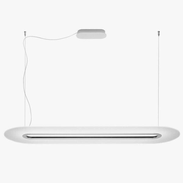 Lámpara colgante Opti-Line DALI blanco-0