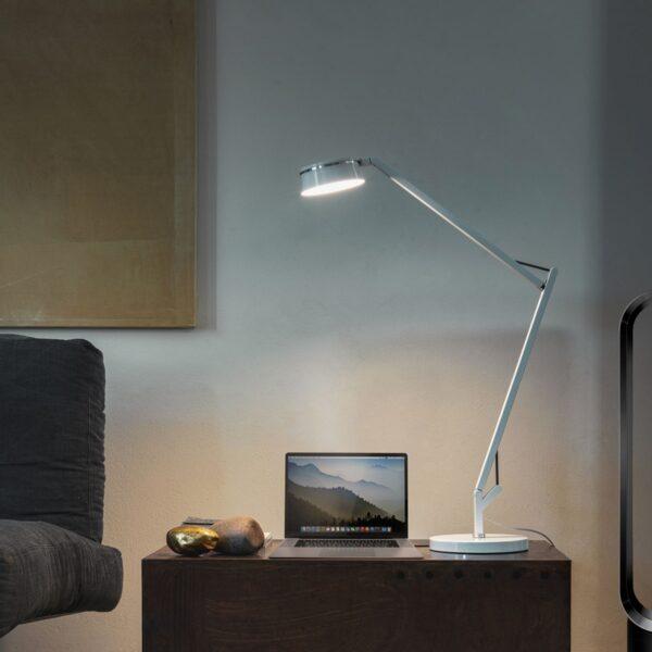 Lámpara de sobremesa Dress Code blanco Linea Light -2286