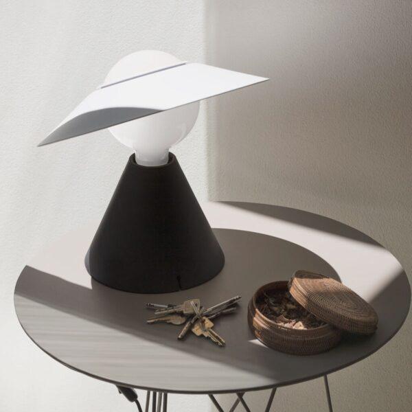 Lámpara de sobremesa Fante negro Linea Light -2295