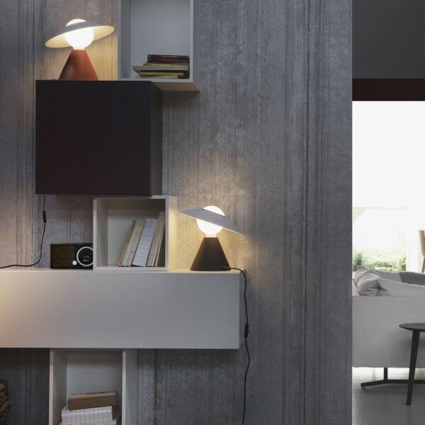 Lámpara de sobremesa Fante negro Linea Light -2293