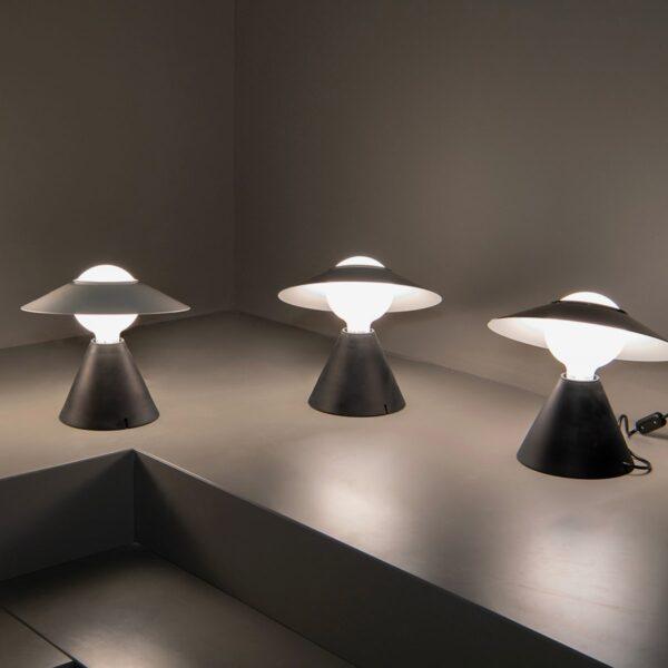 Lámpara de sobremesa Fante negro Linea Light -2292