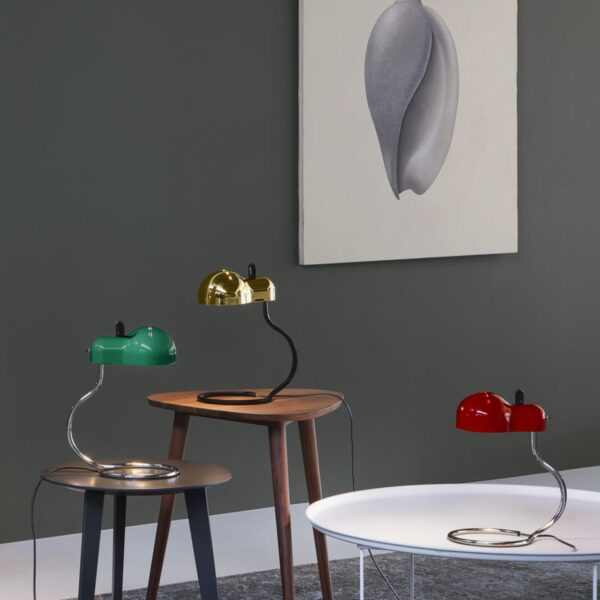 Lámpara de sobremesa Minitopo oro Linea Light-2304