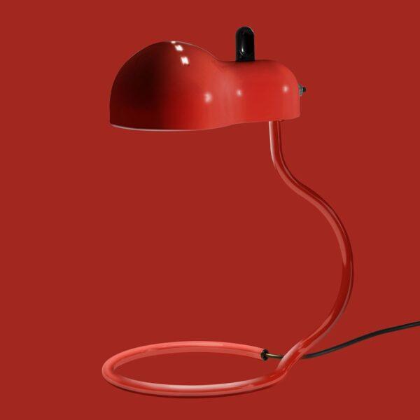 Lámpara de sobremesa Minitopo rojo Linea Light-2298