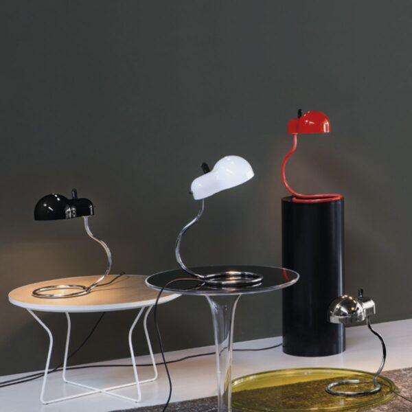 Lámpara de sobremesa Minitopo rojo Linea Light-2299