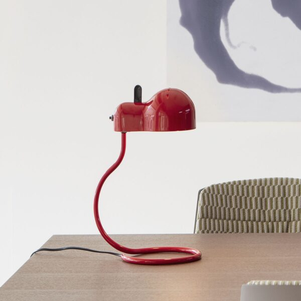 Lámpara de sobremesa Minitopo rojo Linea Light-2300