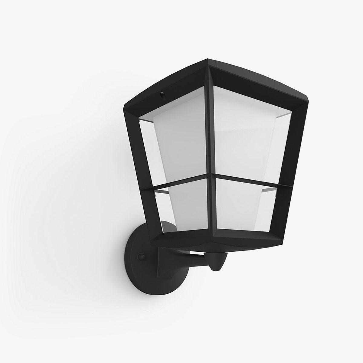 Philips Hue Econic aplique de pared exterior negro-0