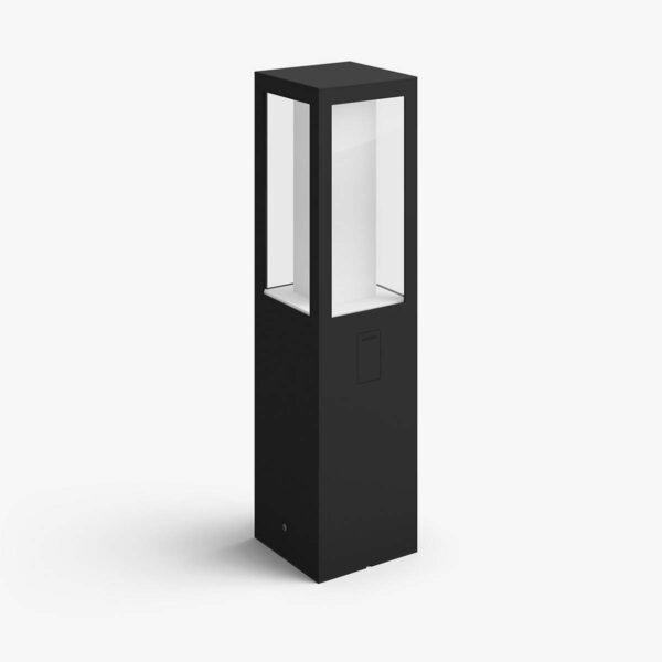Philips Hue Impress pedestal exterior negro-0