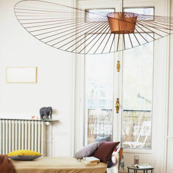 Lámpara colgante Vertigo S cobre Petit Friture-2387
