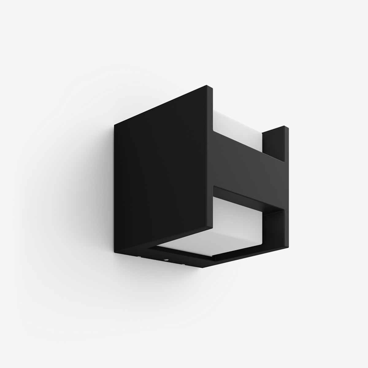 Philips Hue Fuzo aplique de pared exterior negro-0