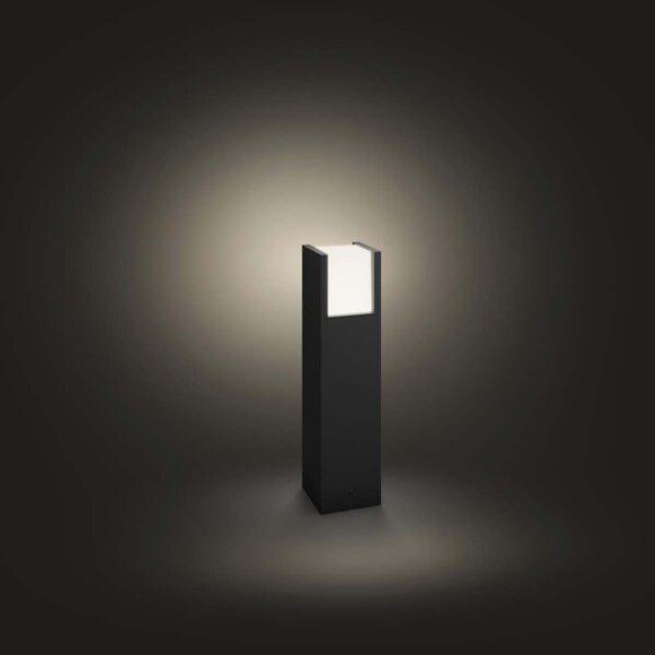 Philips Hue Fuzo baliza exterior negro-2420