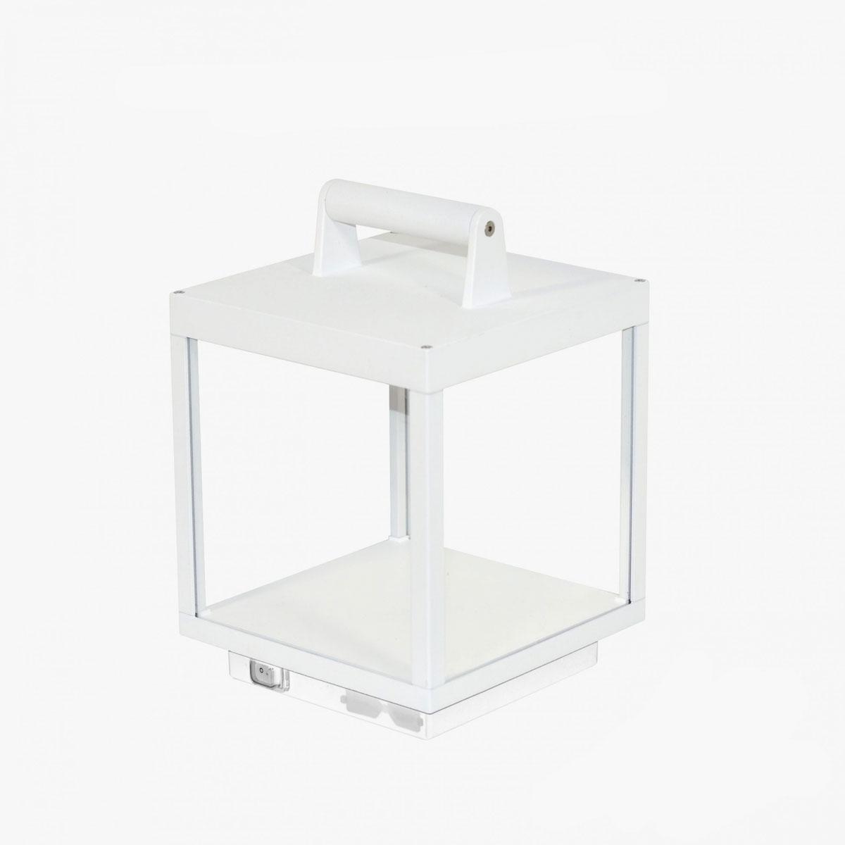 Lámpara LED de exterior inalámbrica blanca | Portátil | L&A Selection