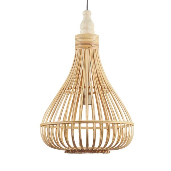 lampara-colgante-amsfield-madera-marron-eglo-foto-2