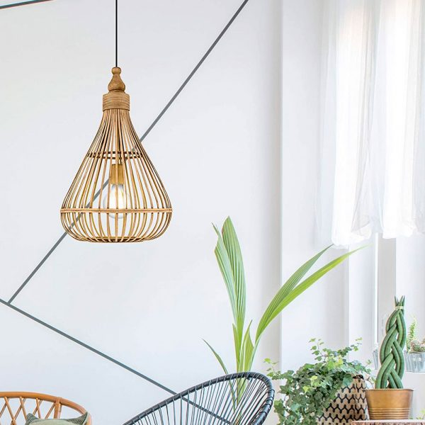 lampara-colgante-amsfield-madera-marron-eglo-foto-4