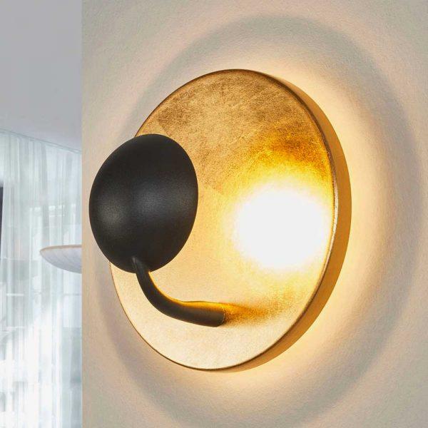 aplique-de-pared-aurora-led-oro-trio-lighting-foto-3