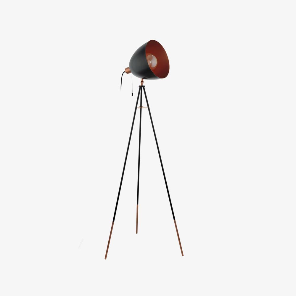 lampara-de-pie-chester-negro-y-cobre-eglo-foto-1