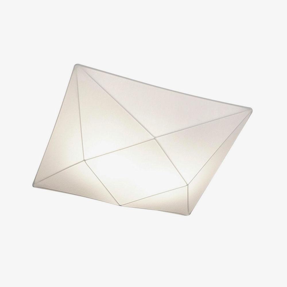 Lámpara de techo plafón Polaris blanco