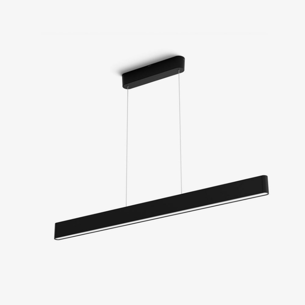 Lámpara colgante Ensis led negro Philips Hue 1
