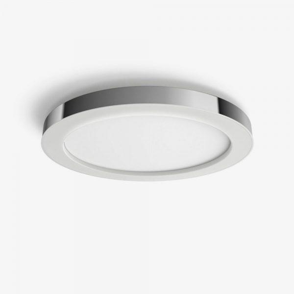 Lámpara de techo plafón bano Adore plata Philips Hue 1