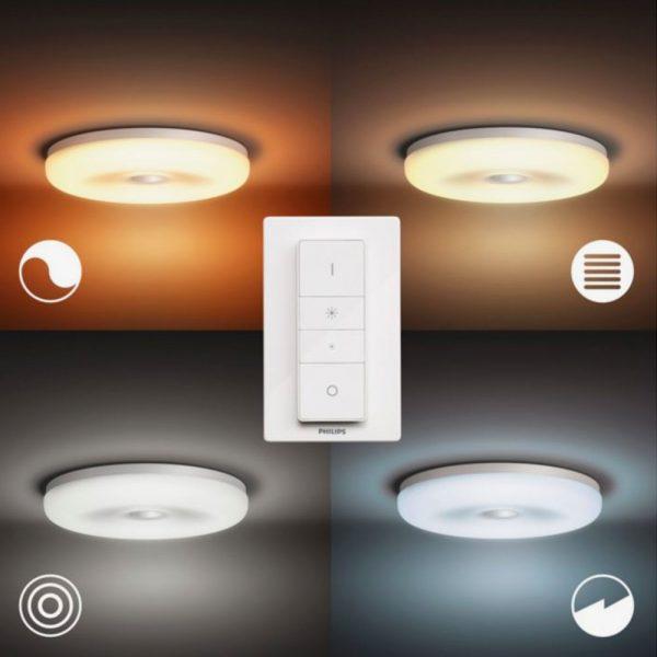 lampara-de-techo-plafon-bano-struana-blanco-philips-hue-foto-5