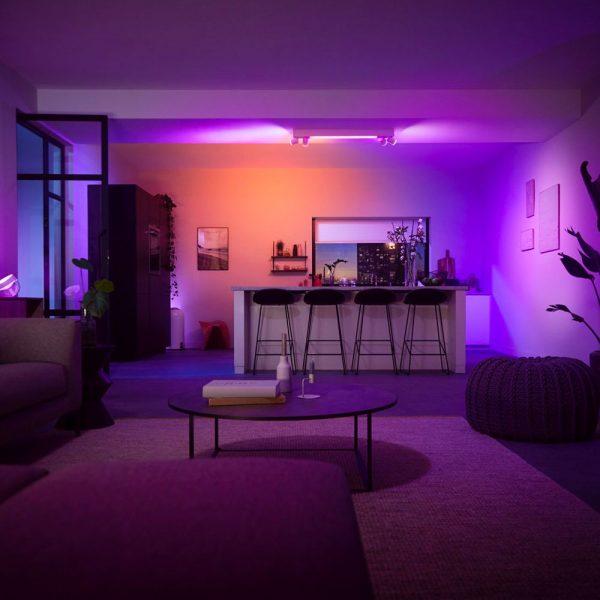 lampara-de-techo-plafon-cuatro-focos-centris-led-blanco-philips-hue-foto-3