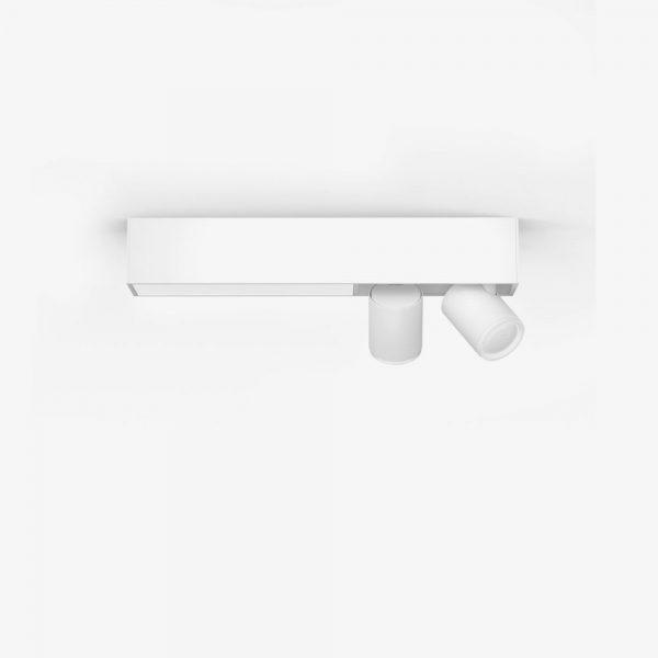lampara-de-techo-plafon-dos-focos-flourish-led-blanco-philips-hue-foto-1