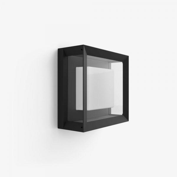 plafon-exterior-cuadrado-econic-negro-philips-hue-foto-1