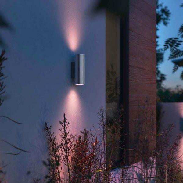 aplique-de-pared-exterior-appear-gris-philips-hue-foto-4