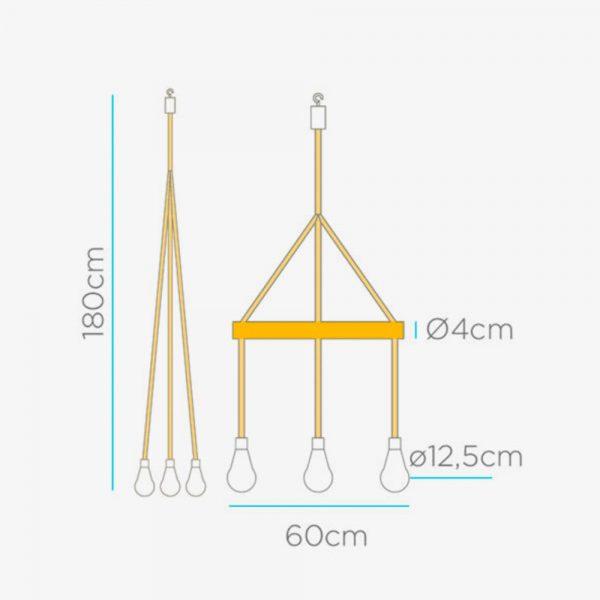 lampara-colgante-solar-sin-cables-ilaria-led-marron-new-garden
