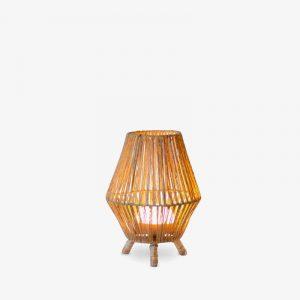 lampara-de-sobremesa-sin-cables-sisine-30-led-marron-new-garden